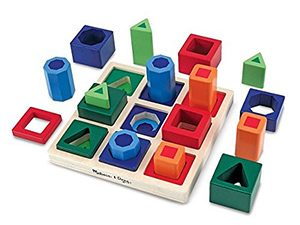 Autism Sensory Educational Puzzle Toys